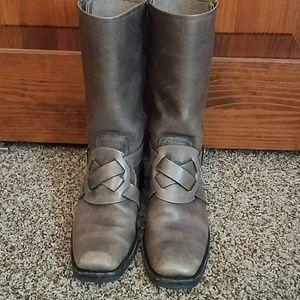 Frye Heath Harness Boots